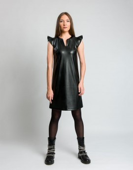 Φόρεμα δερματίνη